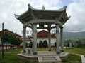 Various sizes decorative granite stone pavilion