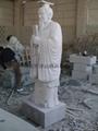 Granite carving stone figures like body