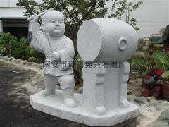 Granite sculpture carving novices