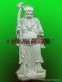 Bluestone stone god statue