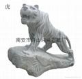 Decorative granite stone garden statues
