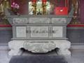 Bluestone carving stone desk stone temple supplies