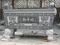 Bluestone stone temple stone table