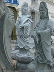 青石石雕觀音雕像如意觀音