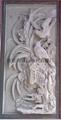 Granite Stone Merlin bamboo relief fresco chrysanthemum