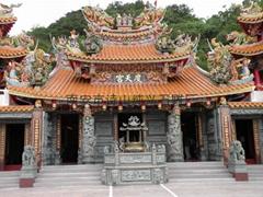青石石雕寺廟雕刻