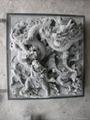 Bluestone stone decorative relief sculpture