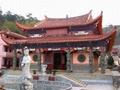 庙宇龙柱浮雕雕刻