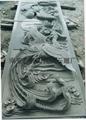 Bluestone stone temple relief murals