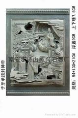 寺庙石雕人物浮雕雕刻