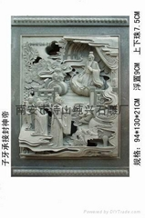 寺廟石雕人物浮雕雕刻