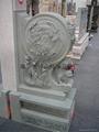 Bluestone stone carving stone carving