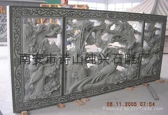 寺廟石雕人物浮雕雕刻 4