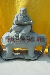 石雕18罗汉