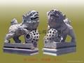 Stone lion,Sculpture,Stone,Tennis lions