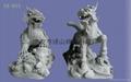 Stone lion,Sculpture,Stone,Tennis lions,
