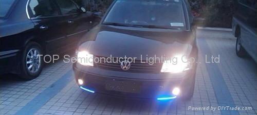 LED strip light in Car