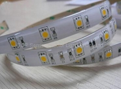 SMD 5050 150 LED WhitePCB Waterproof - Glue Covered with half silicon tube,DC12V