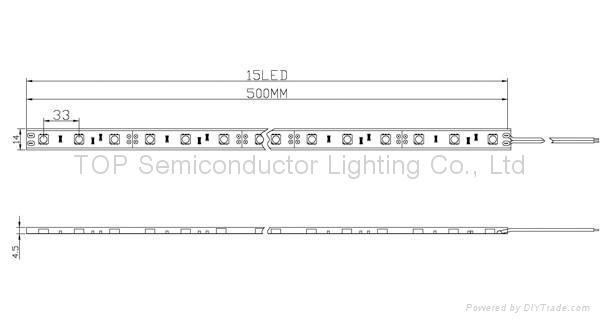 貼片5050 防水軟性燈帶 2