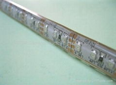 SMD 3528 300 LED WhitePCB Waterproof  Glue Covered with half silicon tube DC12V