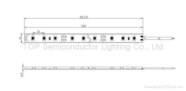 貼片3528 防水軟性燈帶 2