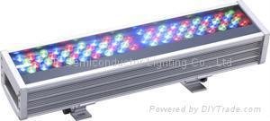 大功率LED全彩洗墙灯72W  1