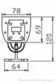 High Power LED Linear Light(12*1W) 2