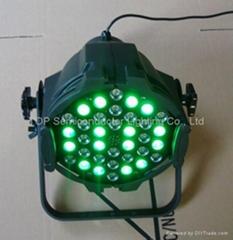 36颗LED 帕64 RGB 3W