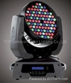 LED Moving Head Light 108LEDs RGB 1W or