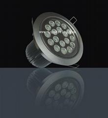 18*1W LED 天花燈