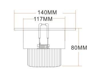 15*1W LED 天花燈 2