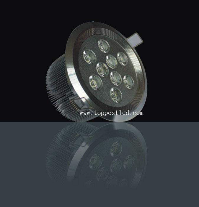 9*1W LED 天花燈 1