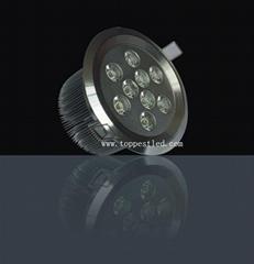 9*1W LED 天花灯