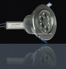 6*1W LED 天花燈