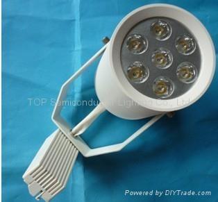 7W*1W LED 大功率轨道灯 1