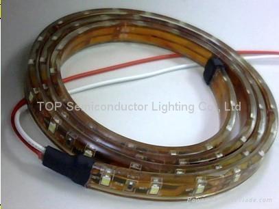 貼片3528 防水軟性燈帶DC12V 1