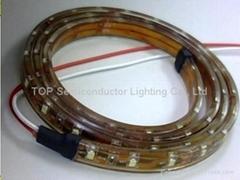 貼片3528 防水軟性燈帶DC12V