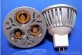 3*1W MR16 High Power LED Spot Light
