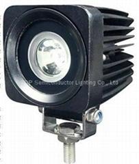 "2.5"" 10W CREE LED工作燈射燈汽車燈駕駛燈麾托車燈"