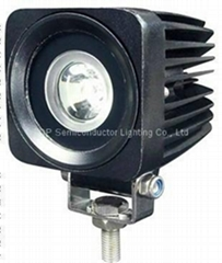 """2.5"""" 10W CREE LED work spot car driving fog lamps for truck motocycle ATV SUV"""