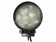 """4.5"""" 18W round LED work driving fog lamp auto car off road vehicles ATV SUV 4WD"""