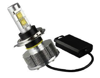 LED H4 汽車大燈 1