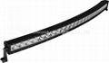 240W Single Row CREE LED Curved Bar