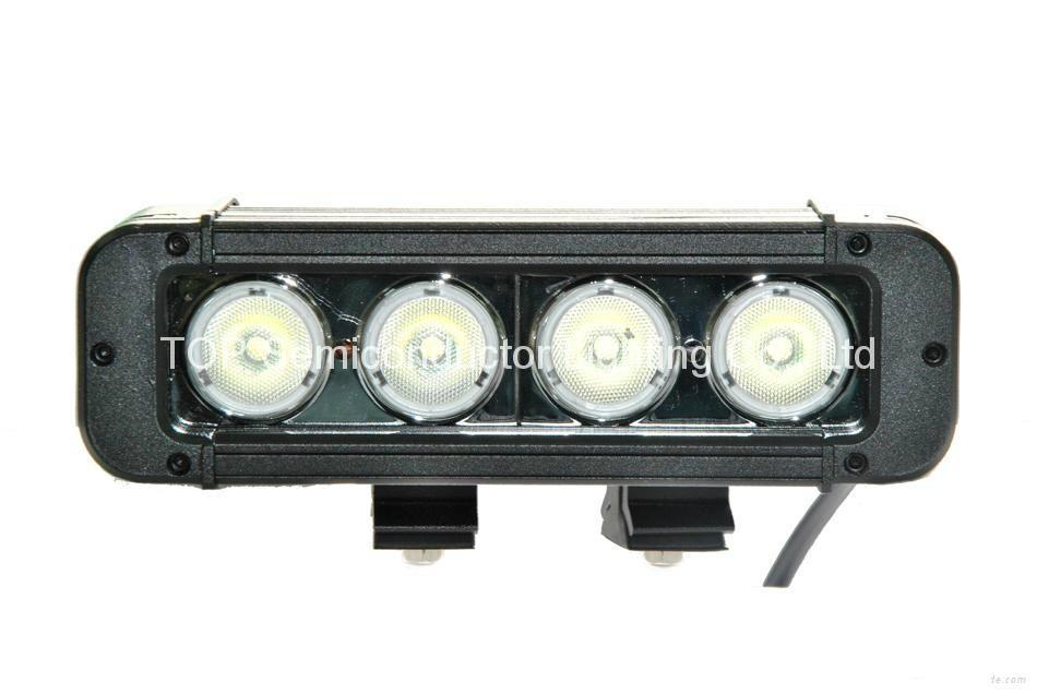 40W 单排CREE单颗10W LED长条灯 1