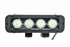 40W 单排CREE单颗10W LED长条灯