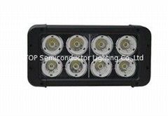 80W 双排CREE单颗10W LED长条灯