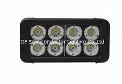 80W 雙排CREE單顆10W LED長條燈