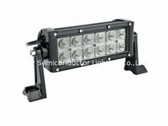 36W Double Row CREE 3W each LED Light Bar
