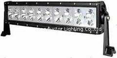 100W 单排CREE单颗10W LED长条灯