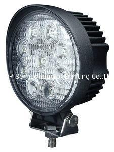 """4.3"""" 圆形27W LED工作灯作业灯车灯汽车灯工程灯越野灯沙滩灯 1"""